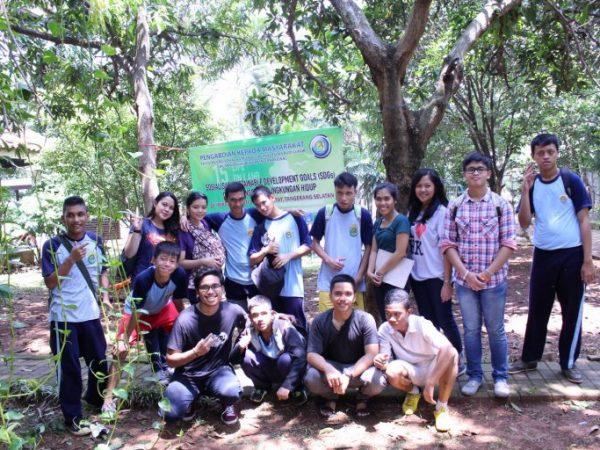 "Kegiatan Pengabdian kepada Masyarakat Dosen Prodi Hubungan Internasional FISIP Universitas Budi Luhur, Jakarta dengan tema ""Sosialisasi Sustainable Development Goals (SDGs) dalam Konservasi Lingkungan Hidup di Yayasan Bhakti Luhur"""