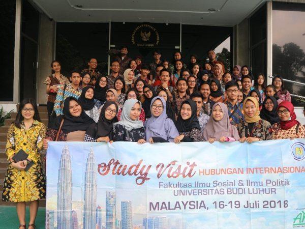 STUDY VISIT : Kunjungan Prodi HI Universitas Budi Luhur ke Kedutaan Besar RI untuk Malaysia di Kuala Lumpur