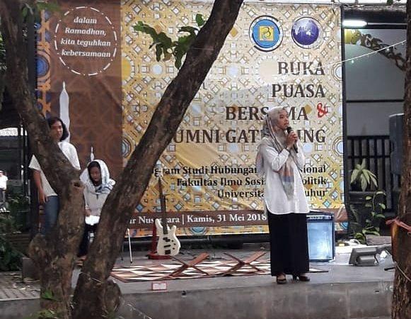 "Kegiatan Buka Bersama Prodi Hubungan Internasional ""Dengan Ramadhan Kita Teguhkan Kebersamaan"""