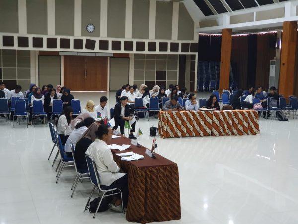 Mahasiswa Hubungan Internasional Universitas Budi Luhur Melaksanakan Budi Luhur Regional Studies – United Nations Security Council Model (BLRS-UNSCM) Dalam Mata Kuliah HI Kawasan
