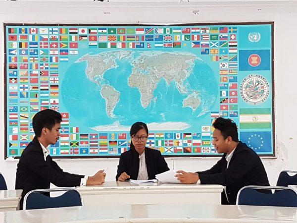 Mahasiswa Hubungan Internasional Universitas Budi Luhur Melaksanakan Simulasi European Court of Justice (ECJ) Dalam Mata Kuliah Ekonomi Politik dan Diplomasi Eropa