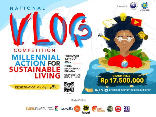 "NATIONAL VLOG COMPETITION ""Millenial Action for Sustainable Living"""