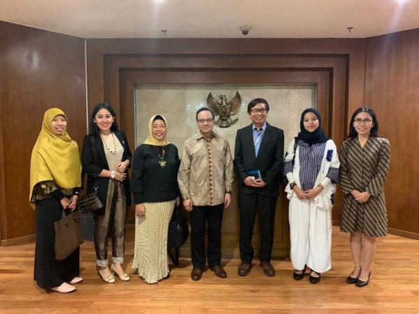 Agenda Kaprodi HI Universitas Budi Luhur, Ibu Elistania Sebagai Bendahara Umum Asosiasi Komunitas Indonesia untuk Kajian Eropa (KIKE)